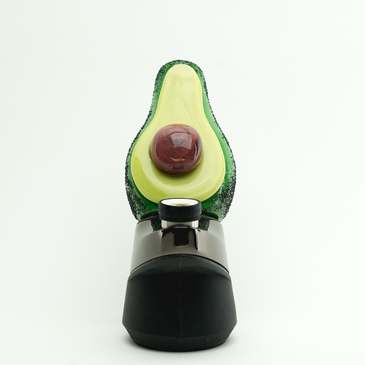 "Empire Glassworks ""Avocado"" Puffco Peak Attachment"