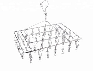 Marine Grade Rectangular Peg Hanger 36 Pegs - RUST PROOF