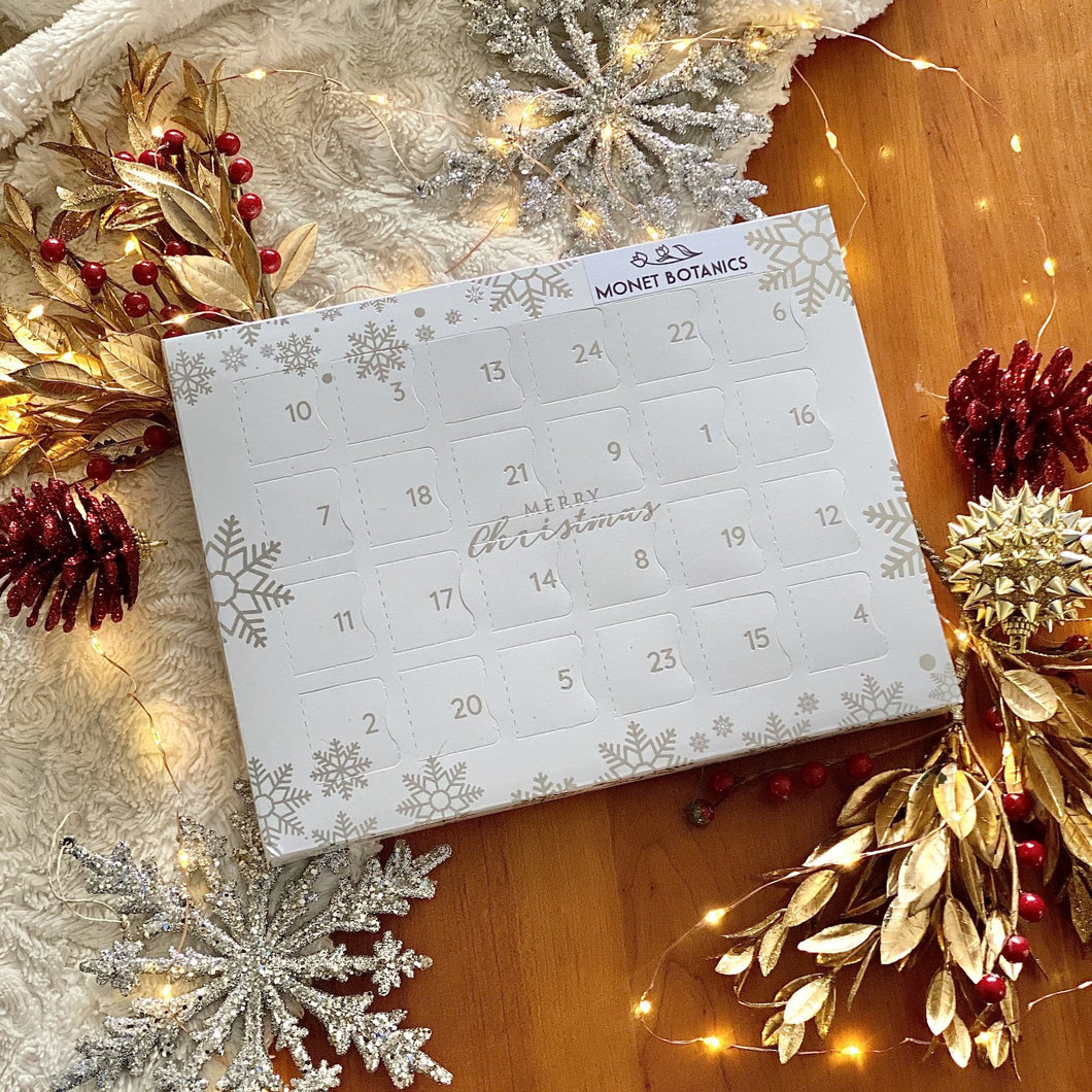 Calendario de adviento de cera perfumada - Wax melt advent calendar