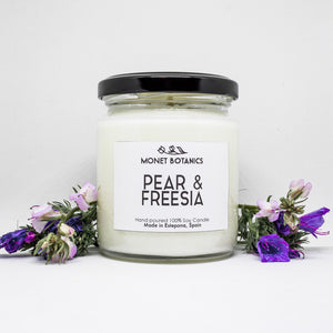 Pear y freesia vela de soja - Pear & Freesia soy candle