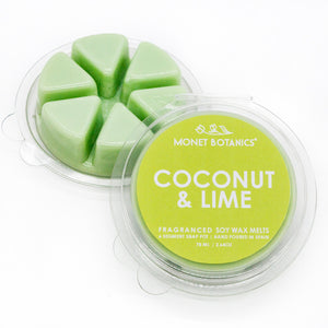 Coconut + Lime Wax Melt