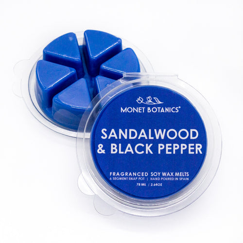 Sandalwood + Black Pepper Wax Melt