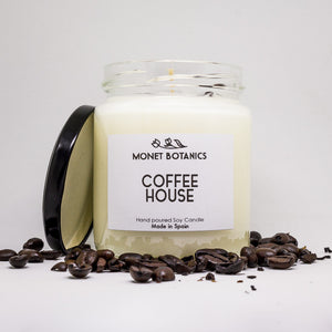 Coffee house Soy candle - Vela de soja de cafe