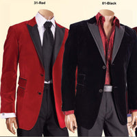 Mens Fancy Gorgeous Velvet Smoking Jacket Black Satin Lapel Formal Look - Nader Fashion Las Vegas