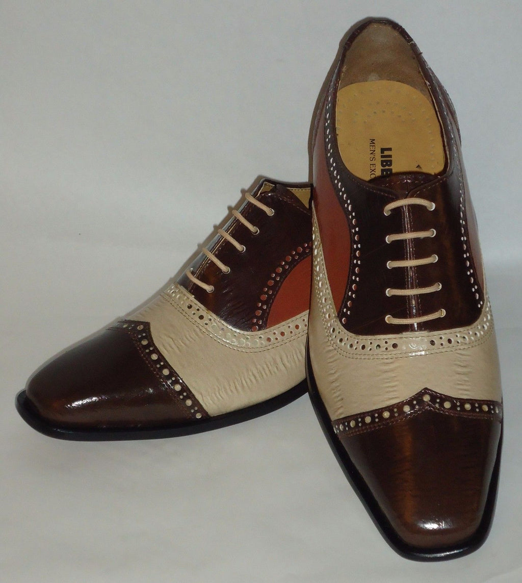 Mens Awesome Stand Out Brown Beige