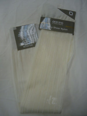 Mens Cream Origins Silky Sheer Knee-High OTC Nylon Dress Socks TNT - Nader Fashion Las Vegas