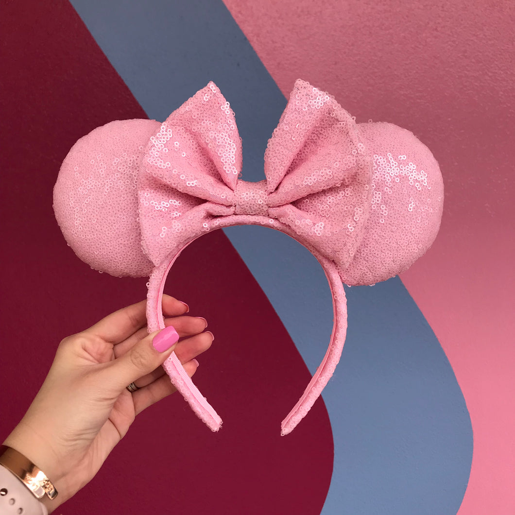 Millenial Blush Pink Minnie Inspired Ears