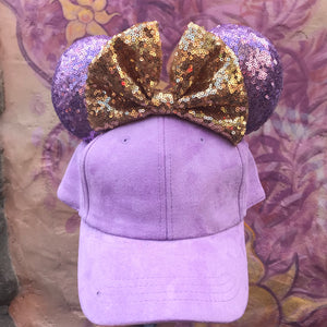 Rapunzel Minnie Suede Hat