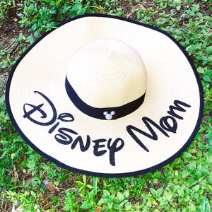 Disney Mom Beach hat