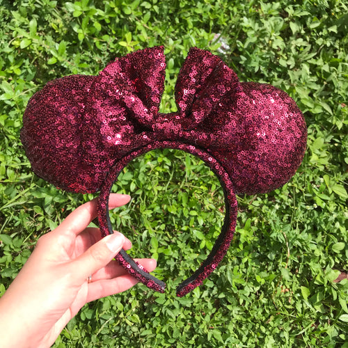All Wine Minnie Inspired Ears