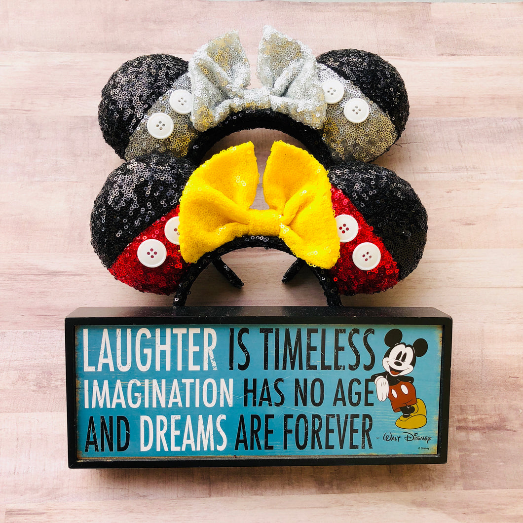 Mickey Mouse 90th Birthday Ears