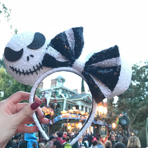 Jack Skellington Minnie Instead Ears