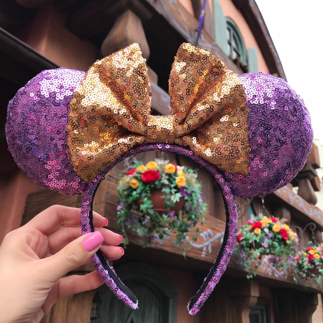 Rapunzel Minnie Inspired Ears