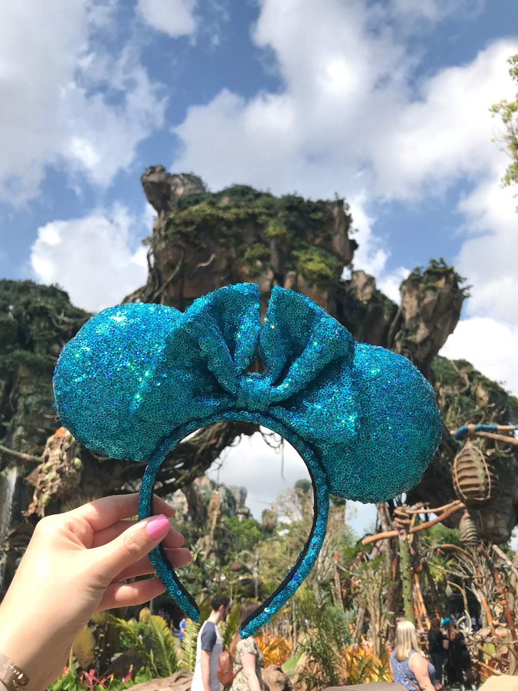 Avatar Sparkly Minnie Inspired Ears