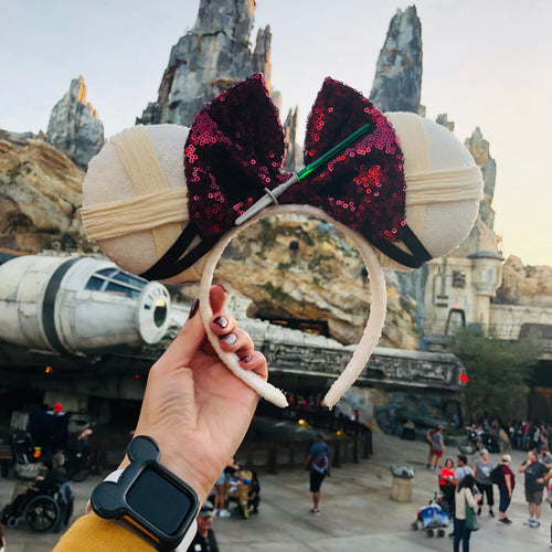 Rey Inspired Minnie Ears