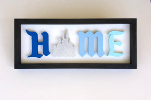 Disney Inspired HOME Wood signs - Cinderella