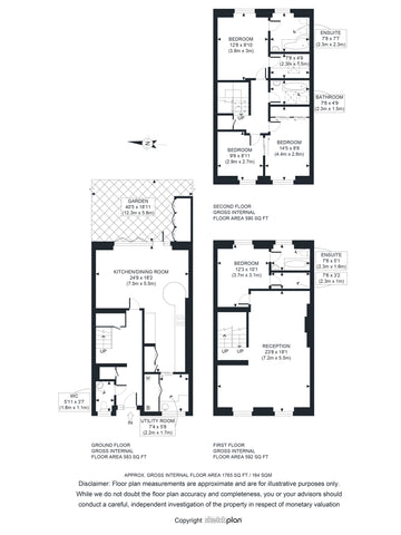 2D Floor Plan from Sketch Provided (1501 - 2000 sq ft | 151 - 200 sq Metres)