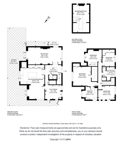 2D Floor Plan from Sketch Provided (2001 - 2500 sq ft | 201 - 250 sq Metres)