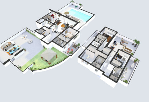 3D Interactive Floor Plan