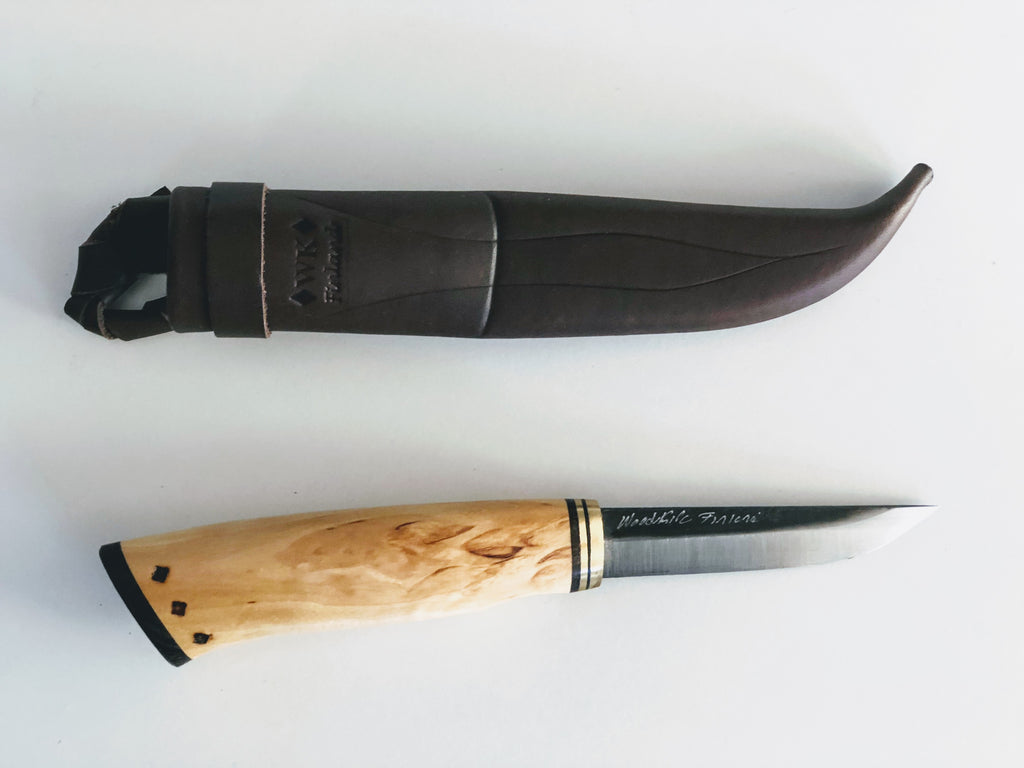 85mm Handmade Finnish Puukko Knife- Handy Tool