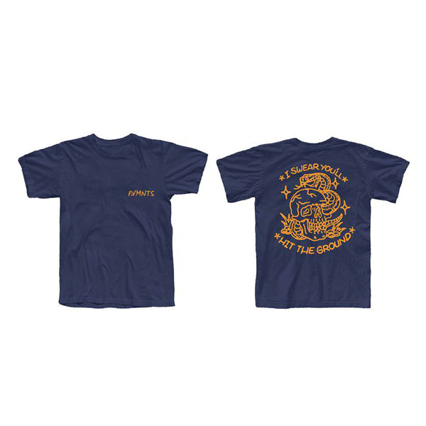 NAVY TATTOO T-SHIRT