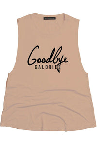 Goodbye Calories Tank