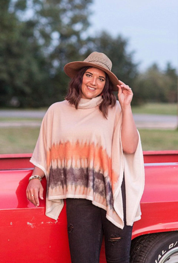 Fall Pop Poncho