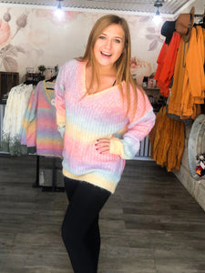 Many Colors Sweater