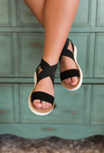 Gypsy Jazz Misty Sandal - Black