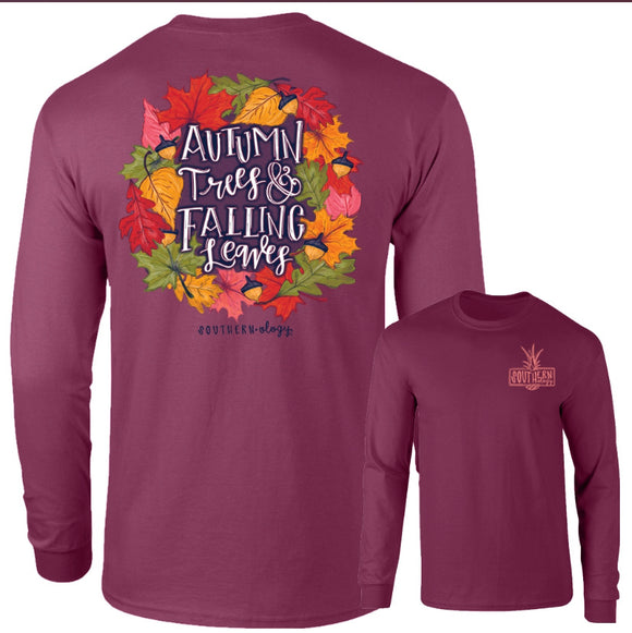 Southernology© Autumn Leaves Long Sleeve T-Shirt