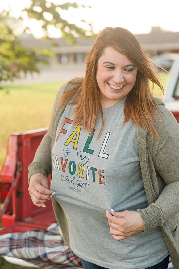 Southernology® FALL is my Favorite Color Statement Tee