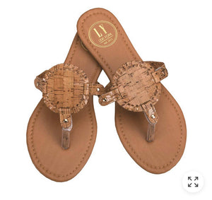 Cork Circled Sandals