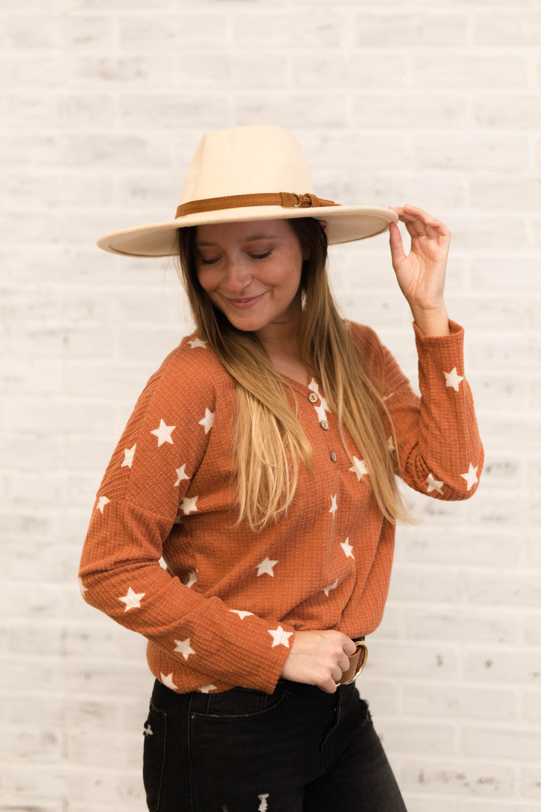 Bri's Wide Brim Hat - 2 Colors