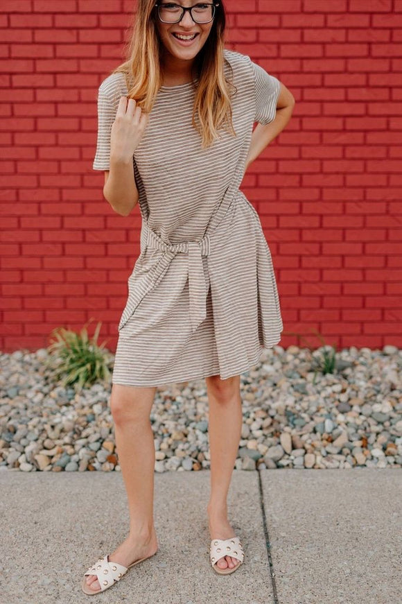 Twenty Taupe Dress