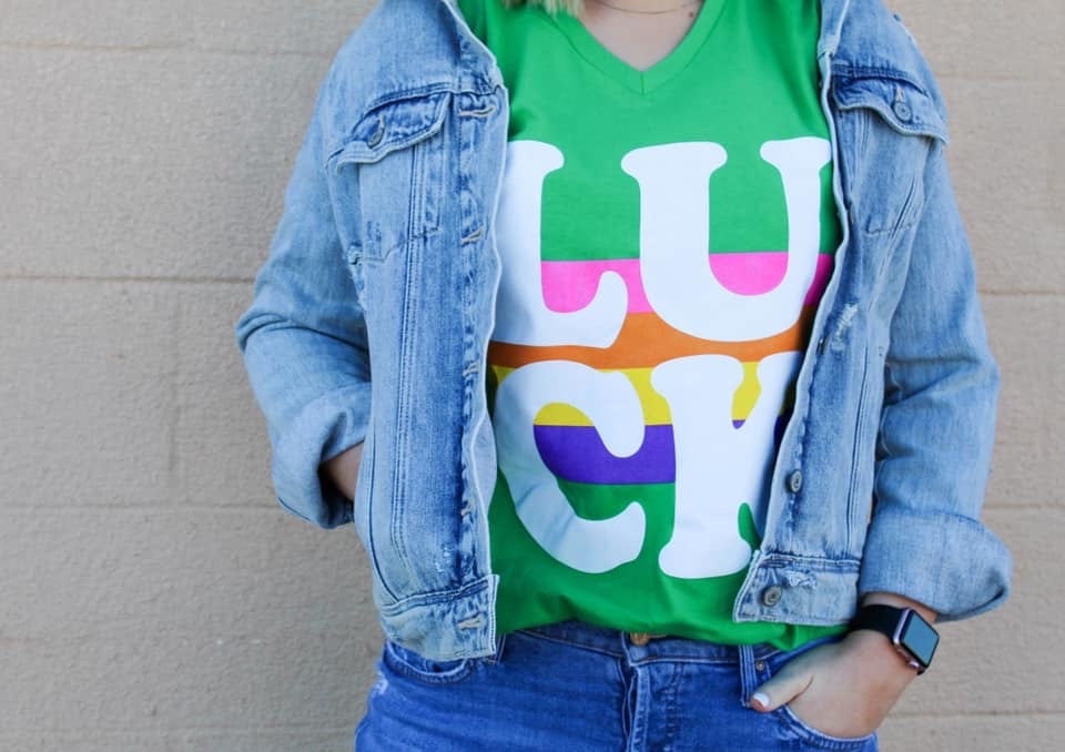 Lucky Rainbows Tee