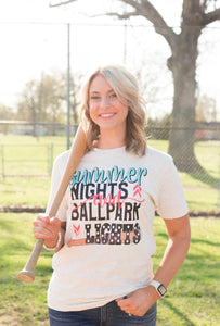 Ballpark Lights Tee