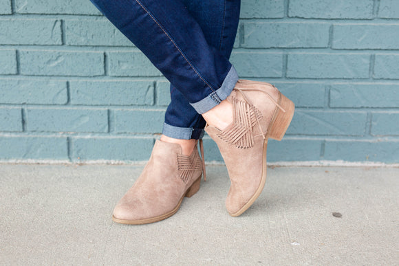 Fringe Detailed Booties