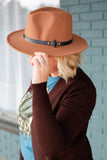 Turning Tan Wool Hat