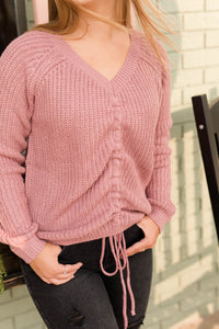 Mara Mauve Sweater