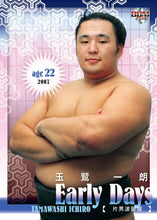 "Sumo Trading Cards - 2018 ""Rikishi"" series"