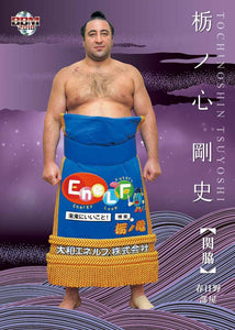 "Sumo Trading Cards - 2018 ""Rikishi"" series - One Pack"