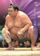 Sumo Trading Cards - 2019 series - One Pack