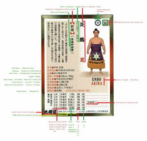 bigSUMOfan.com annotated Sumo Trading Card