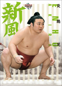 "Sumo Trading Cards - 2019 ""Kaze"" (Wind) series"