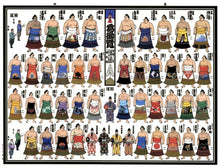 Sumo Picture Banzuke 2020 November