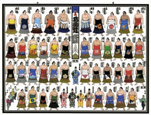 2019 July Picture Banzuke - Kakuryu's 6th Basho Championship