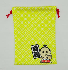Sumo Drawstring Pouch