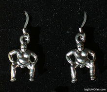 Sumo Wrestler Earrings, Charms, and Sets