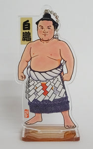 Wrestler Image on a Stand or Keychain