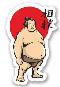 Sumo Decal / Sticker